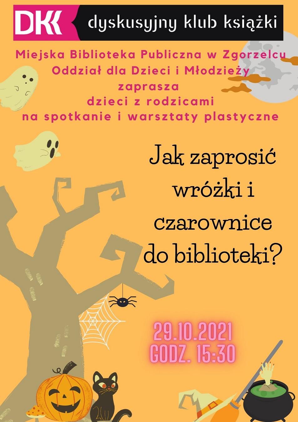 Spotkanie DKK dla dzieci i rodziców 29-10-2021